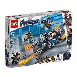 Lego® Marvel Super Heroes - Captain America Et L'attaque Des Outriders - 76123 - 76123
