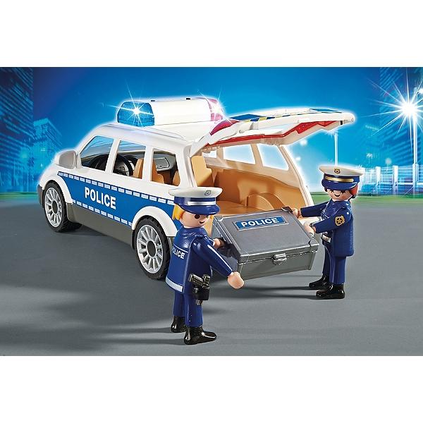Avec Sirène Voiture De Policiers fb76gYyv