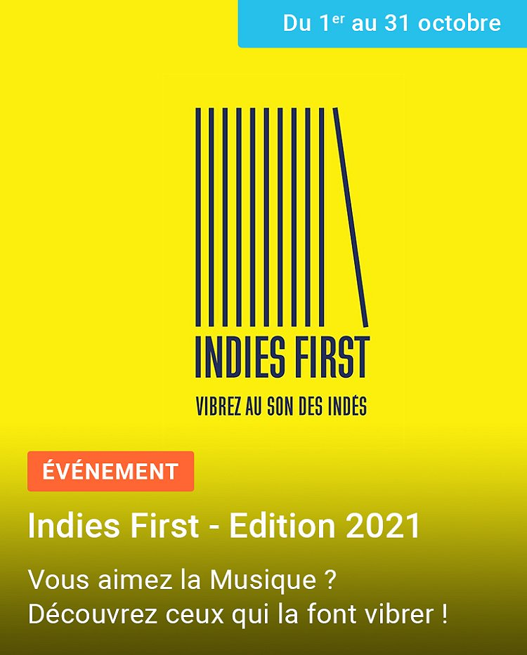 Sélection Indies First - Edition 2021