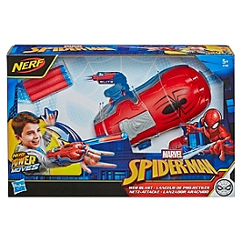 Marvel Spider-Man - Lanceur De Projectiles - Nerf Power Moves - Accessoire De Déguisement - Disney Spiderman - E7328EU40