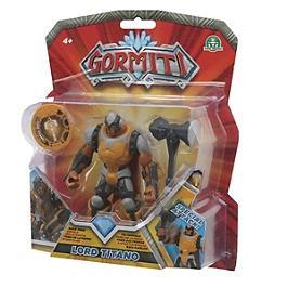 Gormiti - Figurine Deluxe Articulée De 12 Cm - Titano - Giochi Preziosi - GRM022