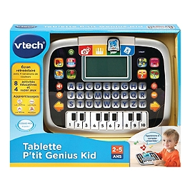 Tablette P'tit Genius Kid Noire - Na - 80-139475