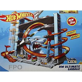 City Mega Garage Hot Wheels - Hot Wheels - FTB69
