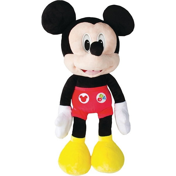 Mickey Emotions Peluche Interactive Sonore Mickey Et Ses Amis Top Depart