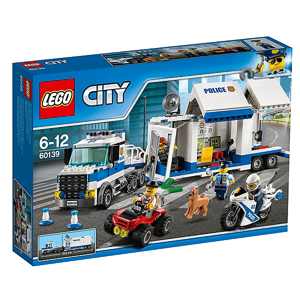 Lego® Mobile Poste Le De Commandement City 60139 n0PNwk8OX
