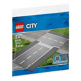 Lego® City - Droite Et Intersection - 60236 - 60236