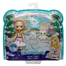 Enchantimals - Odele Hibou Et Cruise - Mini-Poupée - 4 Ans Et + - Enchantimals - GJX46