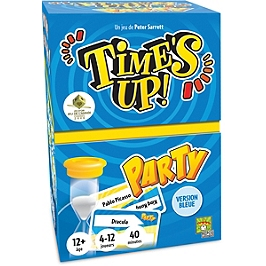 Time's Up Party Version Bleue - ASMTUPA02