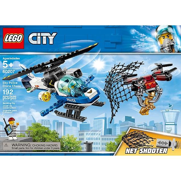 De City Lego® Drone 60207 Le Police La A4R35Lj