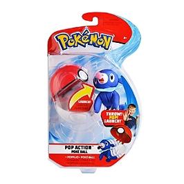 Lanceur Poké Ball et peluche 6 cm - Pokémon (Modèle aléatoire) - 80295