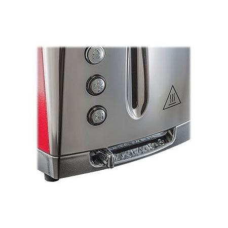 toaster luna russell hobbs 23220 56 e leclerc high tech. Black Bedroom Furniture Sets. Home Design Ideas