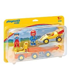 PLAYMOBIL - Voiture de course avec camion - 6761