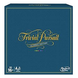 Trivial Pursuit Classique  Jeu De Societe De Réflexion - Hasbro - C19401010