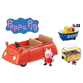 Peppa Pig- Véhicule Avec Figurine- Asst. 2 - Entertainment One - PPC15