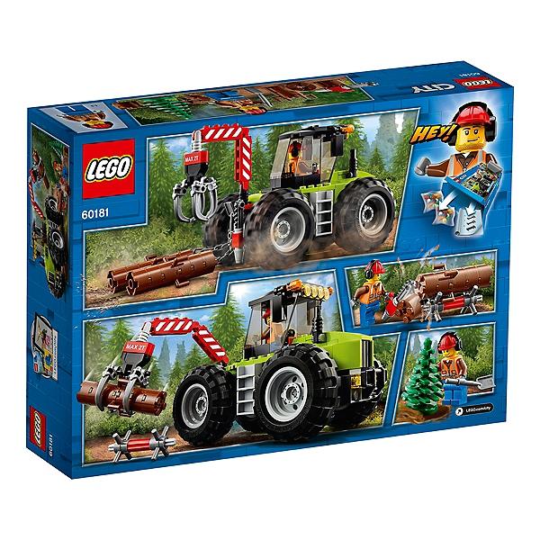 LEGO® City - Le tracteur forestier - 60181 LEGO - Jouets - Espace ...