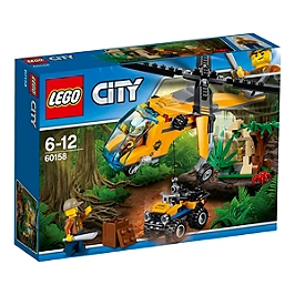 LEGO - Lego® City - LHélicoptère Cargo De La Jungle - 60158 - 60158