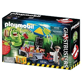 PLAYMOBIL - Bouffe-Tout Avec Stand De Hot Dogs - Ghostbusters - 9222
