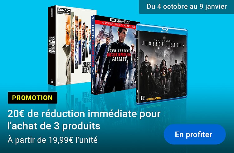 Promotion : 3 produits achetés = BRII 20€ de réduction immédiate