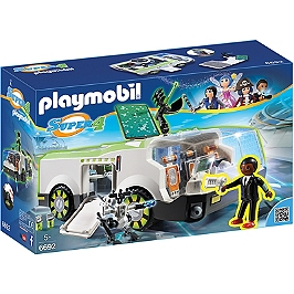 PLAYMOBIL - Super 4 - Techno Caméléon avec Gene - Super 4 - 6692