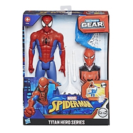 Marvel Spider-Man  Figurine Spider-Man Titan Hero Blast Gear Avec Lanceur Et Projectile - 30 Cm - Disney Spiderman - E73445L00