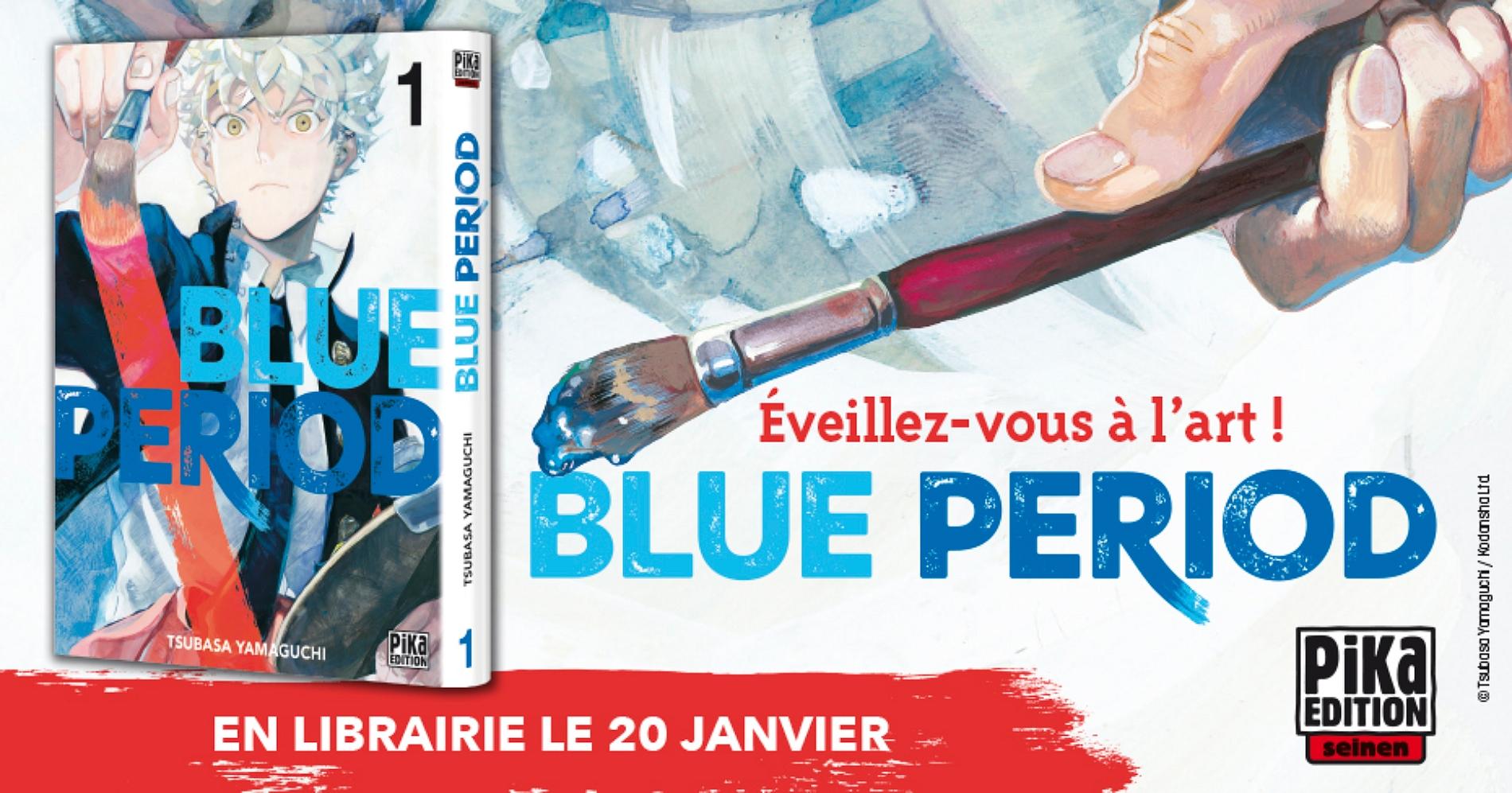 Blue Period - Pika éditions