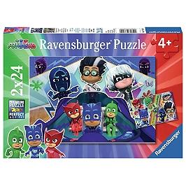 Puzzles 2X24 P - Les Pyjamasques À La Rescousse - Pyjamasques - 4005556078240