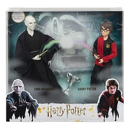 Harry Potter - Pack 2 Poupées Voldemort Et Harry Potter - Poupée Mannequin - 6 Ans Et + - Harry Potter - GNR38