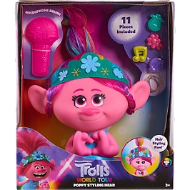 Trolls World Tour - Tête À Coiffer Poppy - Universal - TR101