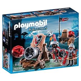 PLAYMOBIL - Chevaliers De L'aigle Avec Canon - 6038