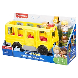 Fisher-Price - Little People Le Bus Scolaire - Jouet D'éveil - 1 À 5 Ans - Fisher Price Little People - FKW98