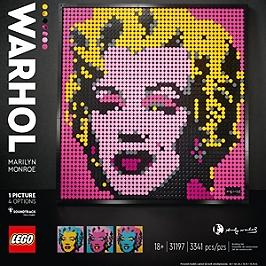 Lego® Art - Andy Warhol's Marilyn Monroe - 31197 - 31197