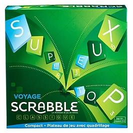 Mattel Games - Scrabble Voyage - Jeu De Société - 1Dès La Naissance - Scrabble - CJT12