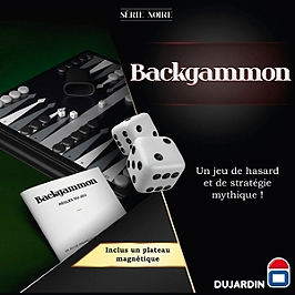 Serie Noire Backgammon - 55340