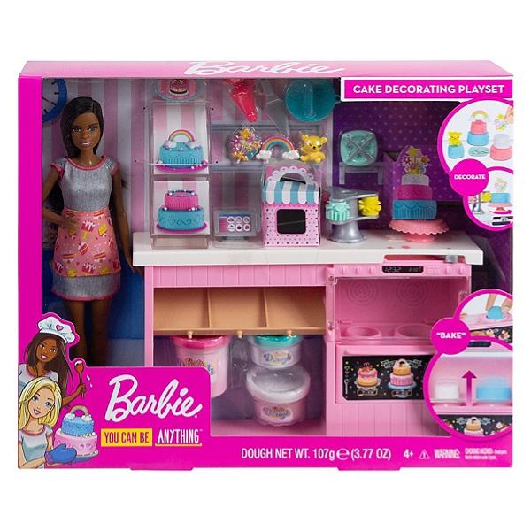 Barbie Barbie Et Sa Patisserie Coffret Poupee Mannequin 3