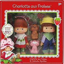 Charlotte aux Fraises - Poupées Charlotte aux Fraises & Clafoutis Myrtilles - Charlotte aux fraises - KKCF2HUC