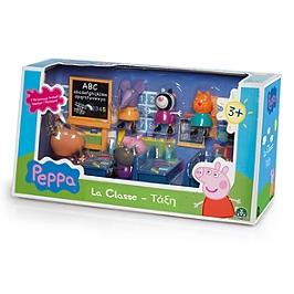 Peppa Pig  - Salle De Classe Avec 7 Personnages - Entertainment One - 4962