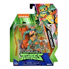 Rotmnt - Figurine Articulée Avec Accessoires - Mikey - Nickelodeon - TUAB02