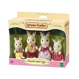La Famille Lapin Chocolat  - Sylvanian Families - 4150