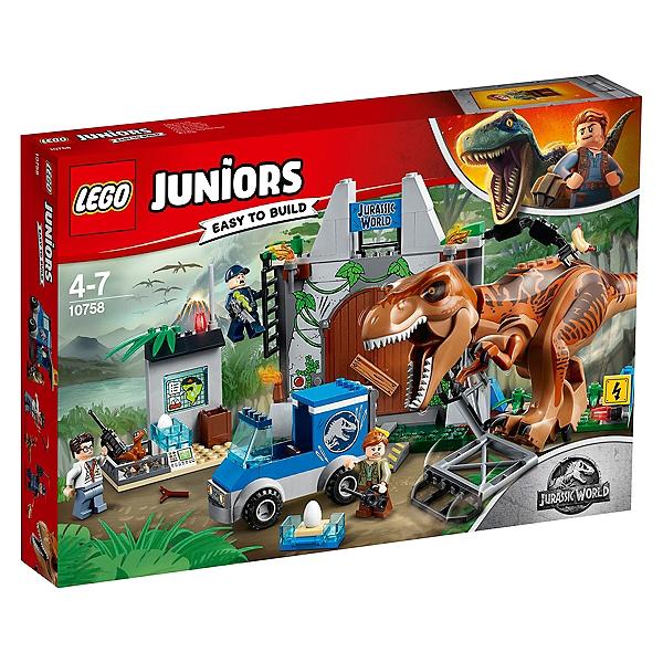 Du Tyrannosaure Lego® Worldtm L'évasion 10758 4Jurassic fY7gb6vy