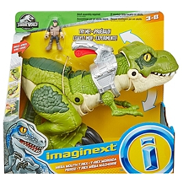 T-Rex Mega Machoire - Jurassic World - GBN14