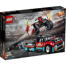 Lego® Technic - Le Spectacle De Cascades Du Camion Et De La Moto - 42106 - 42106