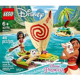 Lego® Disney Princess - L'aventure En Mer De Vaiana - 43170 - 43170