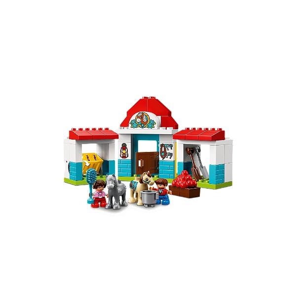 Duplo® De Club Ferme Lego® La Le Poney Ma 10868 Lego Ville Pnk0w8XZNO