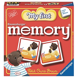 My First Grand memory® Petit Ours Brun - Petit Ours Brun - 4005556218448