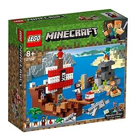 LEGO® MinecraftTM - L'aventure du bateau pirate - 21152 - 21152