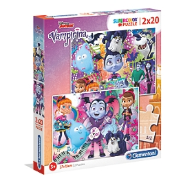 SuperColor 2x20 pièces - Vampirina - Vampirina - 07033