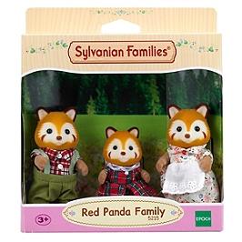 La Famille Panda Roux      - Sylvanian Families - 5215