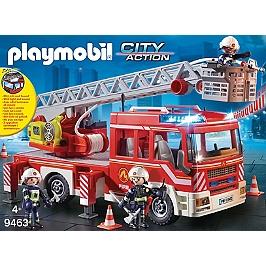 Camion De Pompiers Avec Échelle Pivotant - 0 - 9463