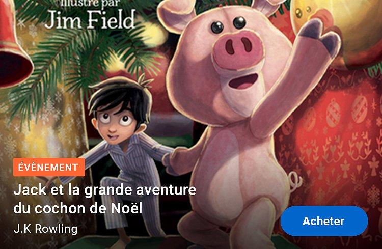 Nouveauté livre Jack et la grande aventure du cochon de Noël