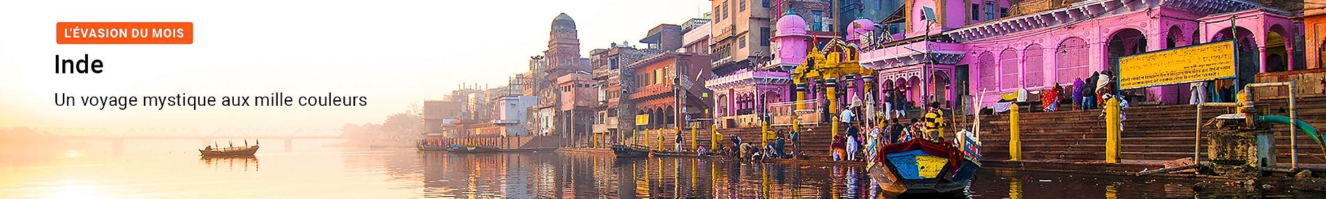 L'évasion du mois : voyage mystique en Inde